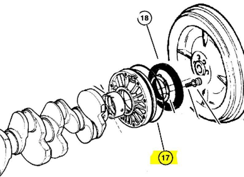 USZCZELNIACZ TYLNY WAŁU 2.5TD 3.1TD Jeep Cherokee 2.5TD