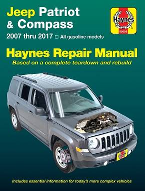 REPAIR MANUAL - Książka Naprawy JEEP PATRIOT COMPASS 2007-2017 MK