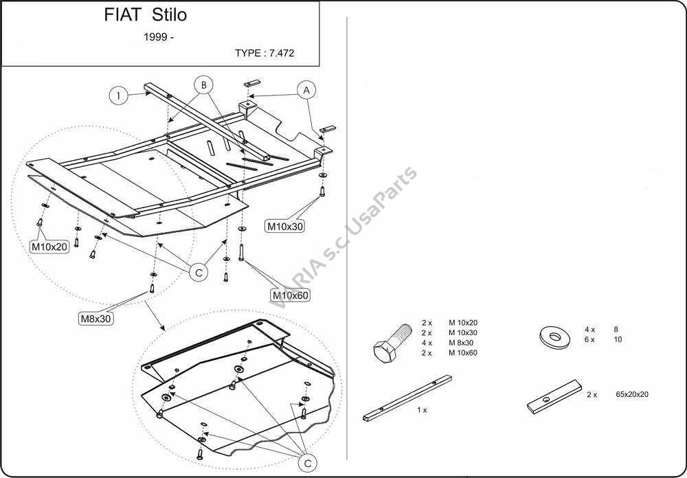 Fiat Stilo Katalog